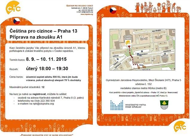 Priprava na zkousku A1 Praha 13_beh 3_cz